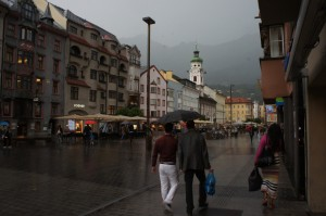 Summer Evening Rain in Innsbruck